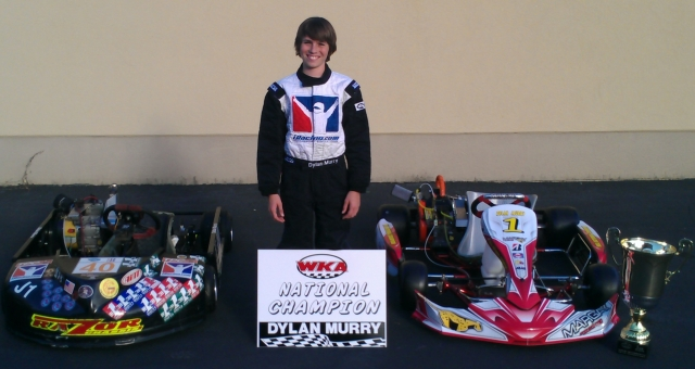 Dylan Murry Razor 2013 WKA Pro Gas Champion