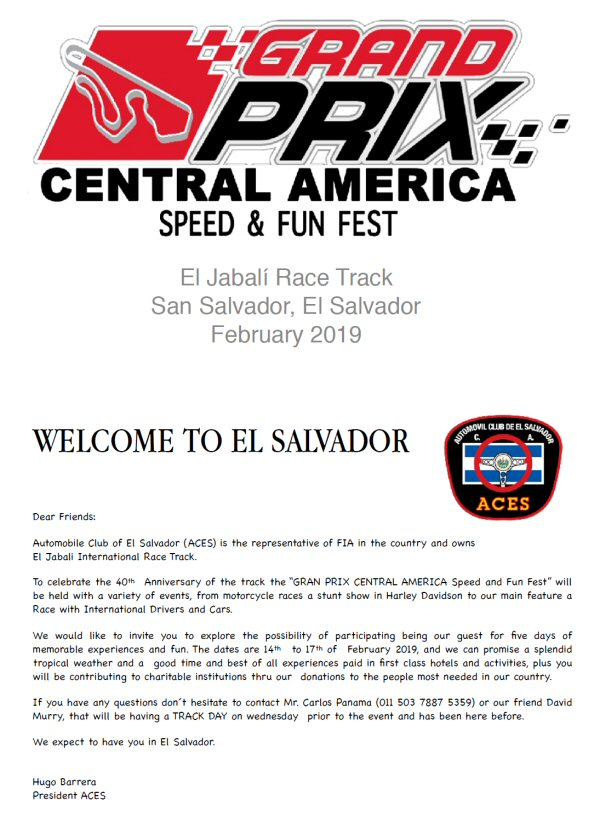 El Salvador Speed Fun Fest