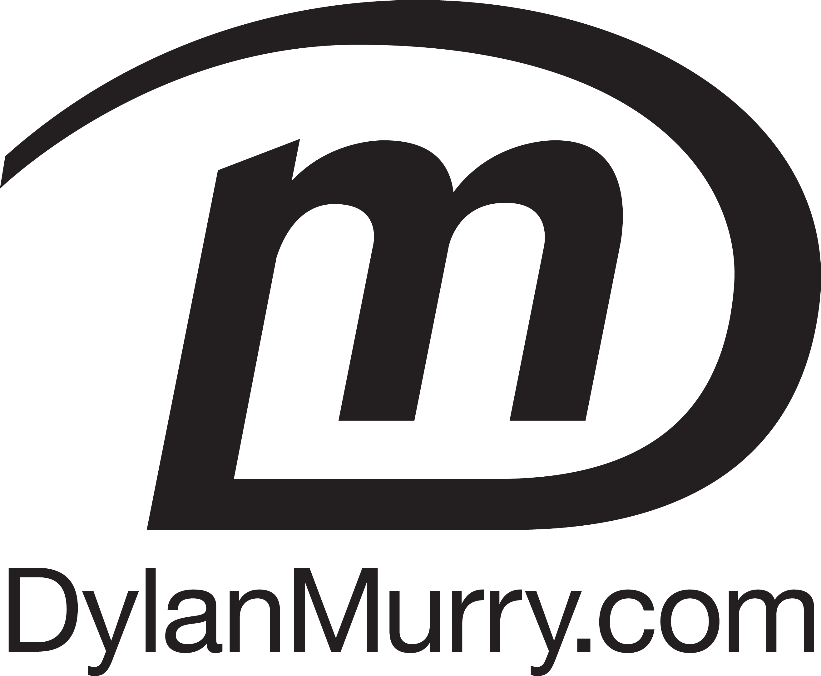 Dylan Murry Logo BLACK v01